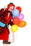 Payaso feliz Foto de archivo libre de regalías