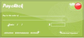 Paycheck Royalty Free Stock Photo