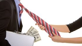 Paycheck Royalty Free Stock Photography