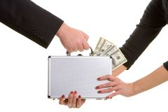 Paycheck Stock Image