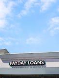 Payday δάνεια Στοκ εικόνα με δικαίωμα ελεύθερης χρήσης