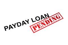 Payday δάνειο εκκρεμές στοκ εικόνες με δικαίωμα ελεύθερης χρήσης