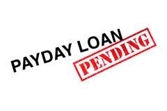Payday δάνειο εκκρεμές στοκ εικόνες