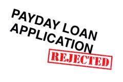 Payday εφαρμογή δανείου στοκ φωτογραφία με δικαίωμα ελεύθερης χρήσης