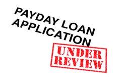 Payday εφαρμογή δανείου στοκ φωτογραφίες με δικαίωμα ελεύθερης χρήσης