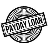 Payday Loan rubber stamp. Grunge design with dust scratches. Effects can be easily removed for a clean, crisp look. Color is easily changed Royalty Free Stock Images