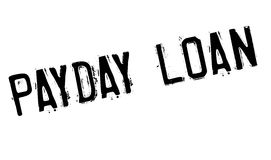Payday Loan rubber stamp. Grunge design with dust scratches. Effects can be easily removed for a clean, crisp look. Color is easily changed Stock Photography