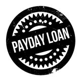 Payday Loan rubber stamp. Grunge design with dust scratches. Effects can be easily removed for a clean, crisp look. Color is easily changed Stock Photo