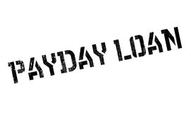 Payday Loan rubber stamp. Grunge design with dust scratches. Effects can be easily removed for a clean, crisp look. Color is easily changed Stock Photos