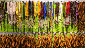 Prayer Beads on display Royalty Free Stock Image