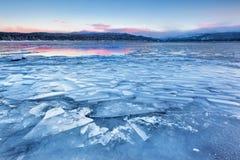 payette mccall озера варенья льда Стоковая Фотография