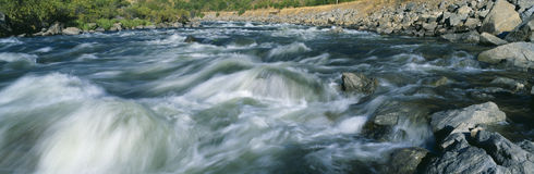 Payette River i Royalty Free Stock Photos