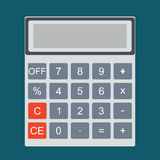 Paying bills.Calculator icon and . Stock Photo
