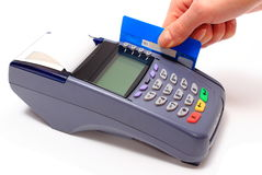 Paying with credit card, finance concept Royalty Free Stock Photography