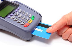 Paying with credit card, finance concept Royalty Free Stock Photo
