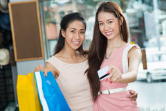 Paying for purchases Stock Photography