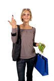 Paying in shopping Royalty Free Stock Images
