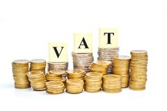 Paying vat Royalty Free Stock Images