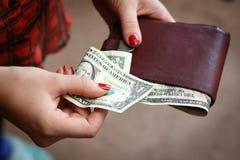 Paying Stock Image