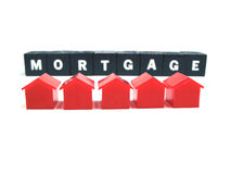 Paying your mortgage Stock Images