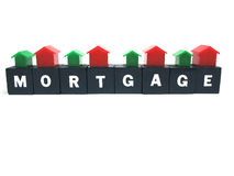 Paying your mortgage Royalty Free Stock Photos