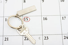 Paying Your Mortgage on Time Royalty Free Stock Images