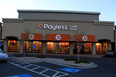 Payless Shoe Store Stock Photo