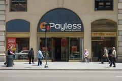 Payless Shoesource stock foto