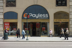 Payless Shoesource stock photo