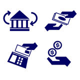Payment as icons Royalty Free Stock Image