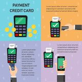 Payment business and finance icons use about info graphic. Payment credit  card Stock Photo