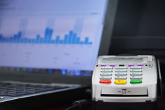 Payment centre Royalty Free Stock Photography