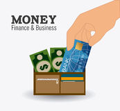 Payment design, vector illustration. Royalty Free Stock Photo