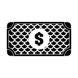 Payment economy icon image. Cash bill payment economy icon image vector illustration design Royalty Free Stock Photo
