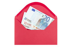 Payment in envelope Royalty Free Stock Images