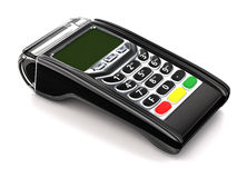 Payment GPRS Terminal,  on white. Stock Images