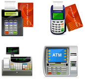 Payment icons Royalty Free Stock Photo