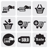Payment icons Stock Photo