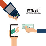 Payment icons design. Payment concept with money icons design, vector illustration 10 eps graphic Stock Photography