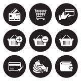 Payment icons set Stock Photo