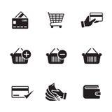 Payment icons set Stock Photos