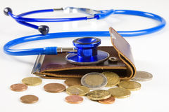 Payment for medical services Stock Photo