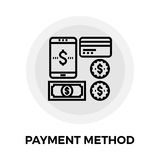 Payment Method Line Icon Stock Image