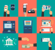 Payment Methods Royalty Free Stock Images
