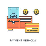Payment Methods Stock Photo