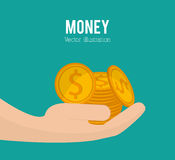Payment and money design Royalty Free Stock Photography