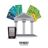 Payment and Money design Stock Photography
