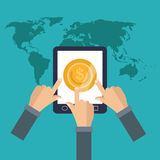 Payment online concept design , vector illustration Stock Images