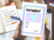Payment Online Shopping Networking Internet Concept Royalty Free Stock Photo