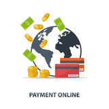 Payment online Stock Images